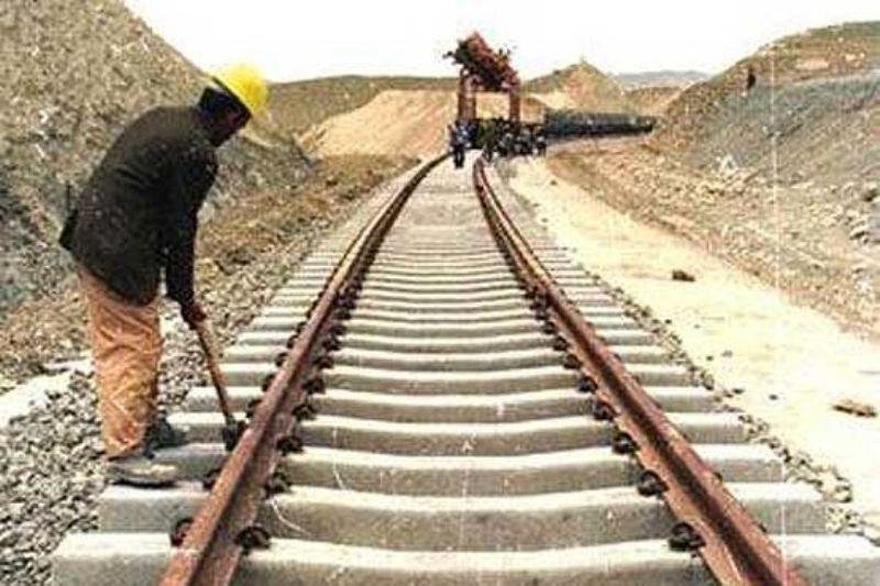 ساخت محدوده ایرانی راه آهن خواف- هرات به پایان رسید