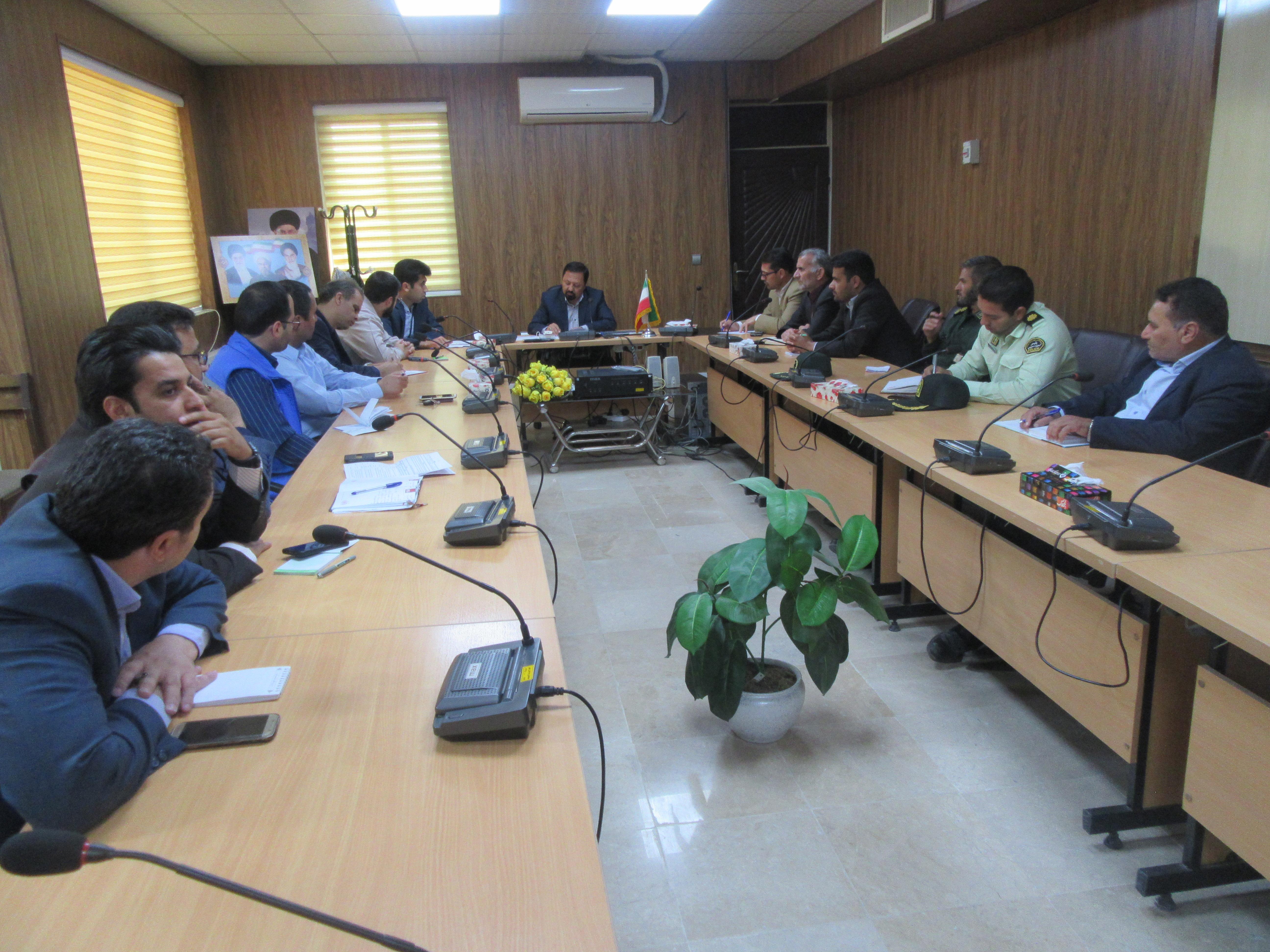 جلسه شورای حفاظت از منابع آب شهرستان خواف برگزار شد.