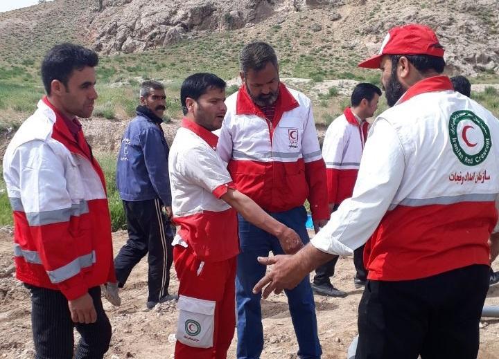 برگزاری اردوی یک روزه توان افزایی و اجرای مانور امداد و نجات در سیلاب