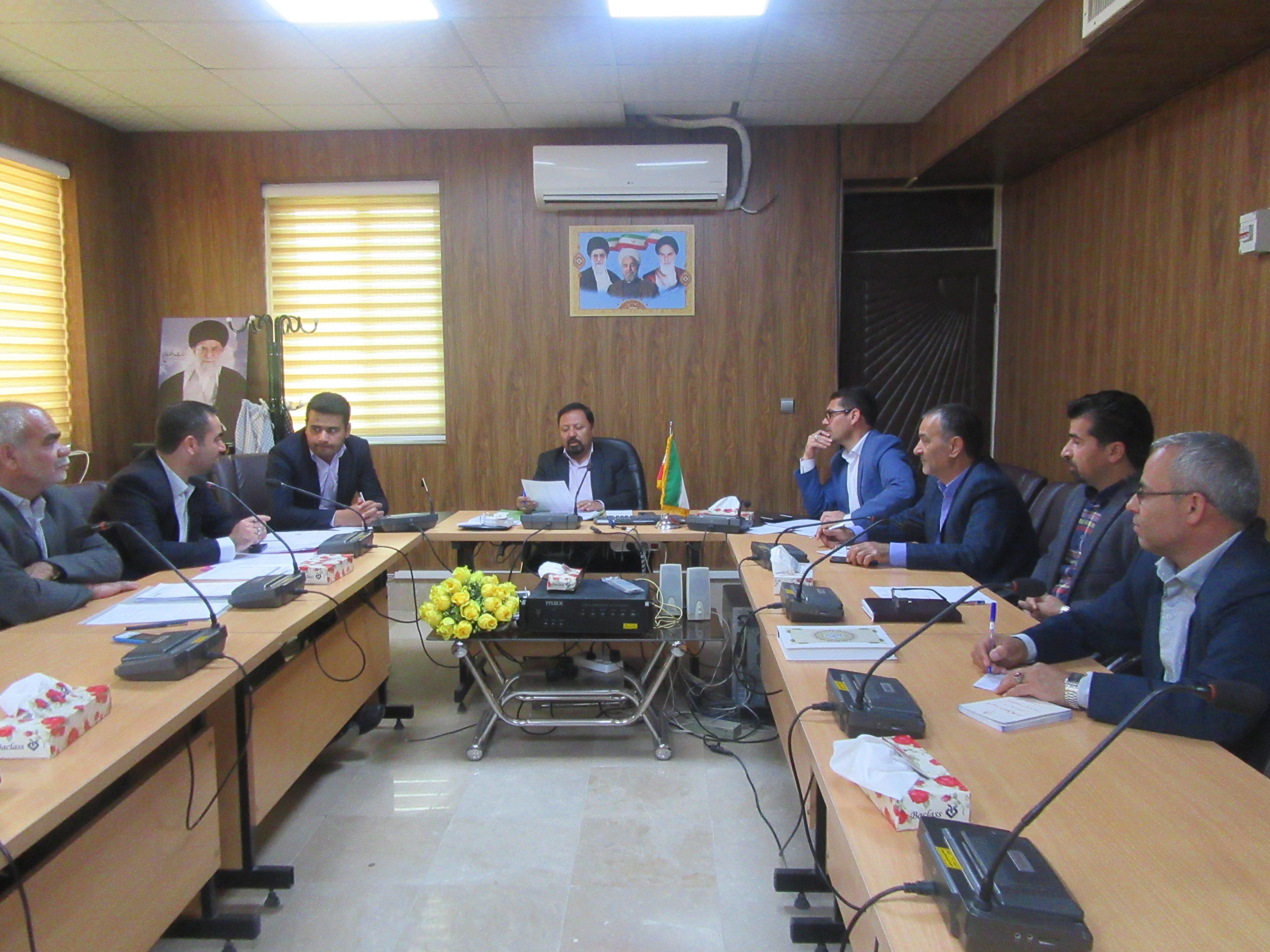 کارگروه آردو نان شهرستان خواف در محل فرمانداری برگزار گردید.