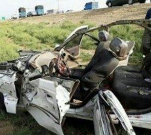سانحه رانندگی، در نزدیکی خواف جوانی را به کما فرستاد