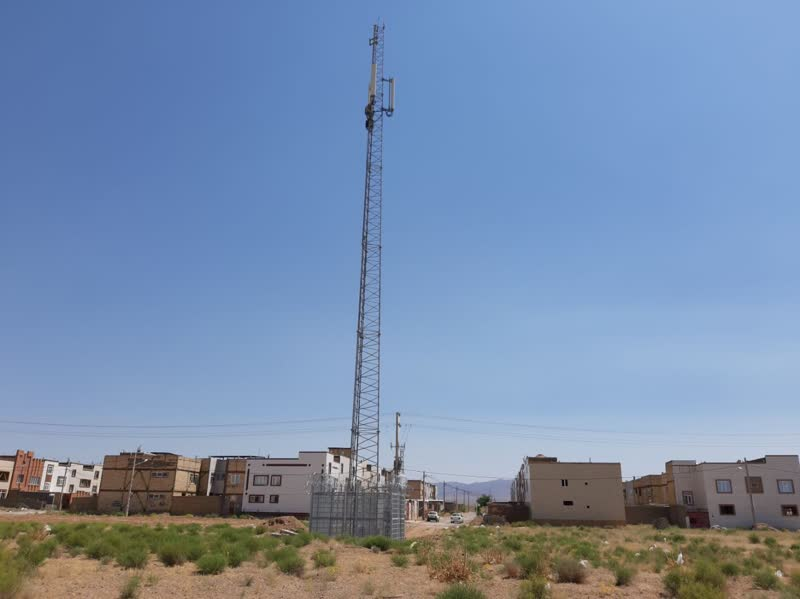 پوشش دهی کامل تلفن همراه در شهر خواف