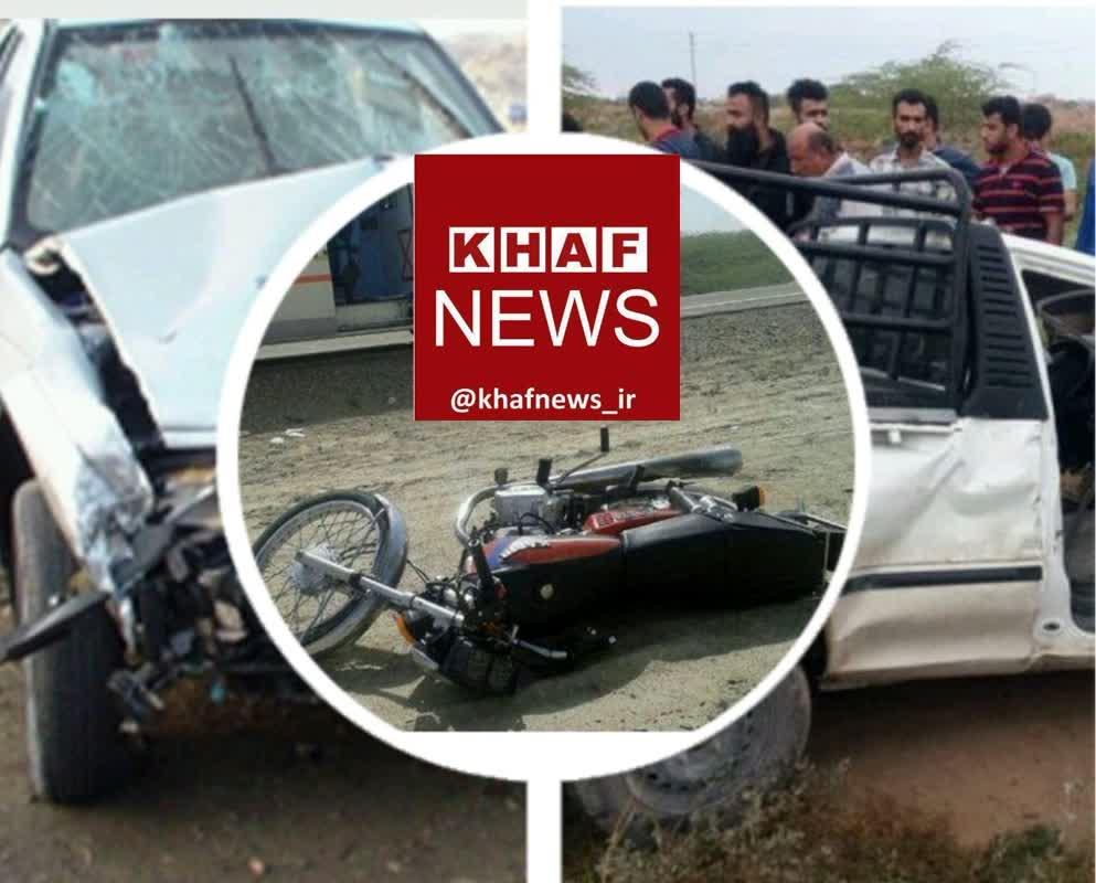 سانحه رانندگی در شهر نشتیفان