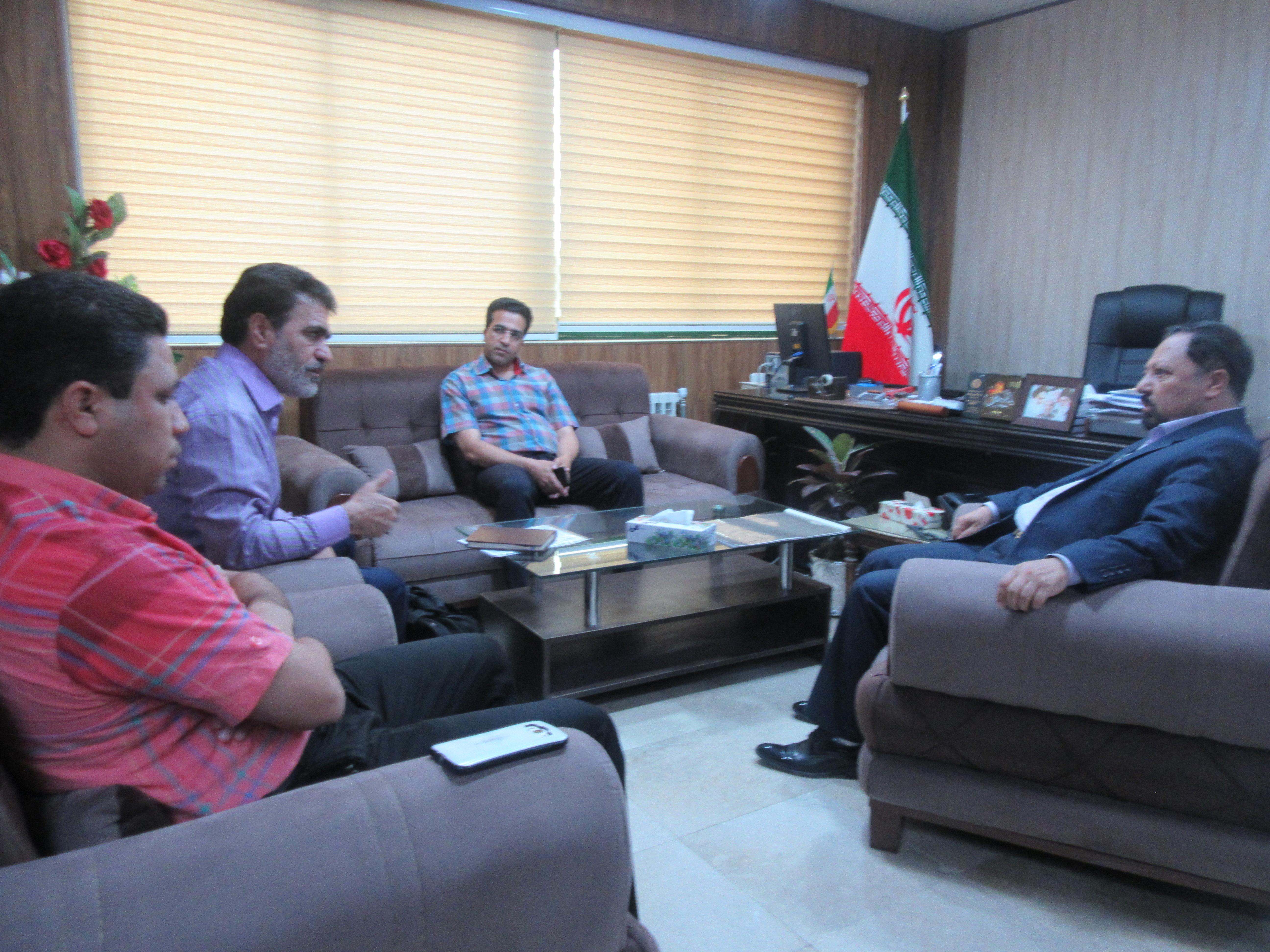 جلسه بررسی عملیاتی کردن طرح توسعه و اشتغال روستایی دهستان بستان