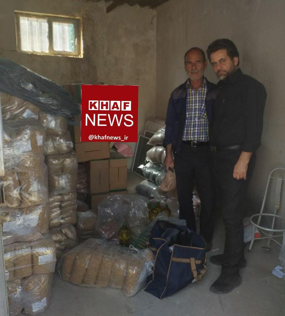 آستان قدس رضوی، دو هزار سبدغذایی در خواف توزیع کرد