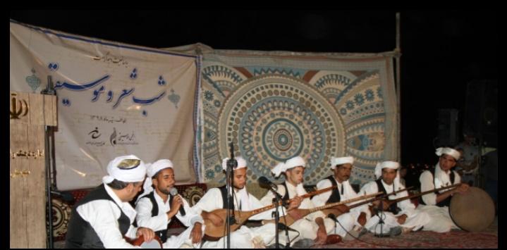 برگزاری شب شعر و موسیقی به مناسبت دهه کرامت در محل پارک معراج