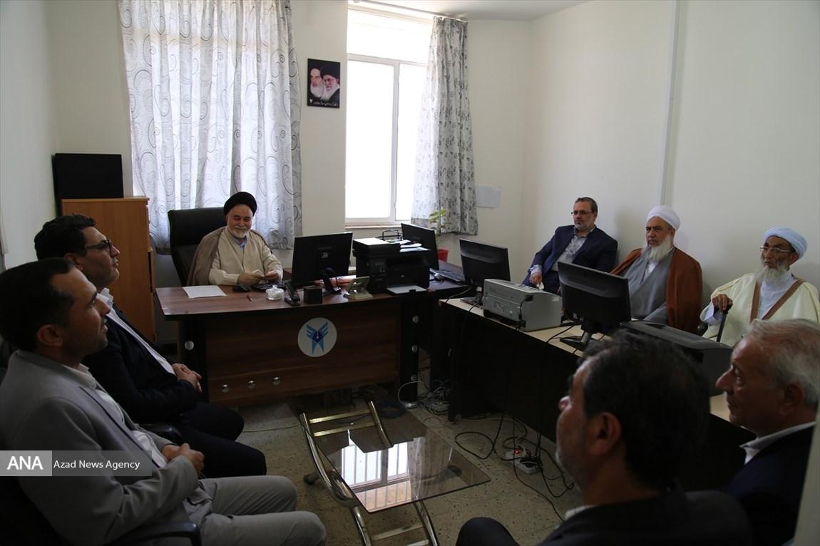 با حضور مسئولان صورت گرفت؛ افتتاح دفتر کانون فرهنگی تقریب بینالمذاهب الاسلامیه در دانشگاه آزاد اسلامی خواف
