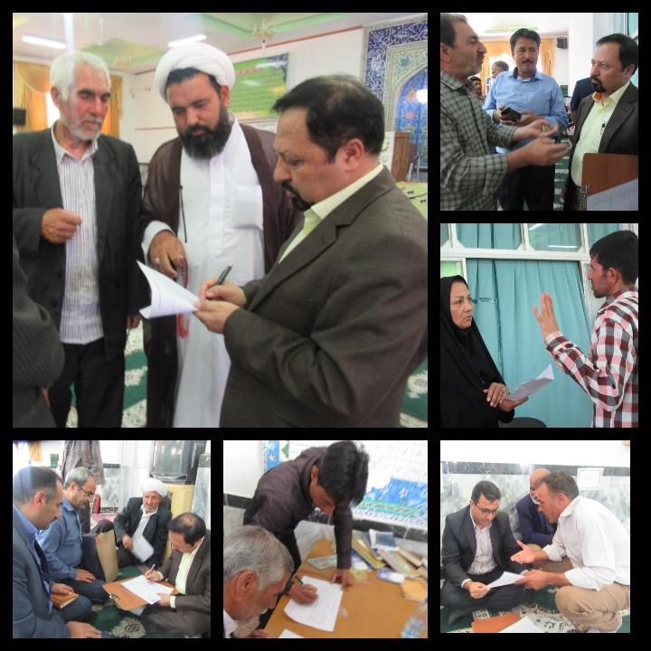 برگزاری ششمین میز خدمت در حسینیه و مسجدالزهرا(س)  خواف