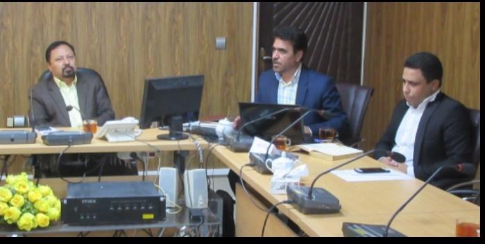 جلسه بررسی طرح توسعه اقتصادی و اشتغالزایی دهستان بستان بخش سنگان