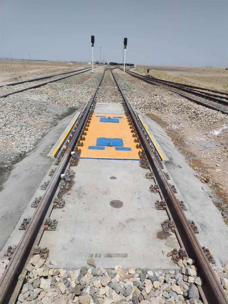 سیستم توزین قطارها در ایستگاه راه آهن خواف نصب و آماده بهره برداری شد