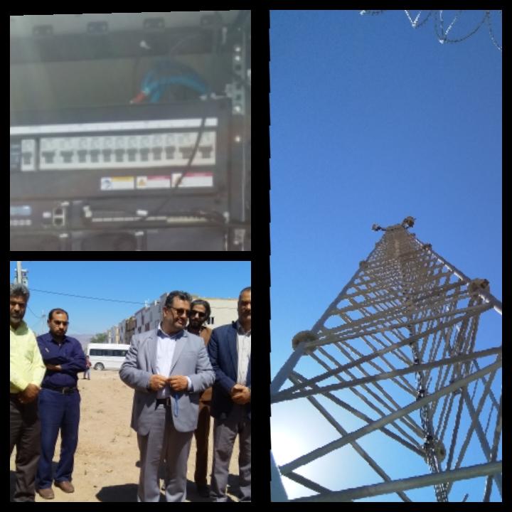 افتتاح پروژه های مخابراتی شهرستان خواف در هفته دولت