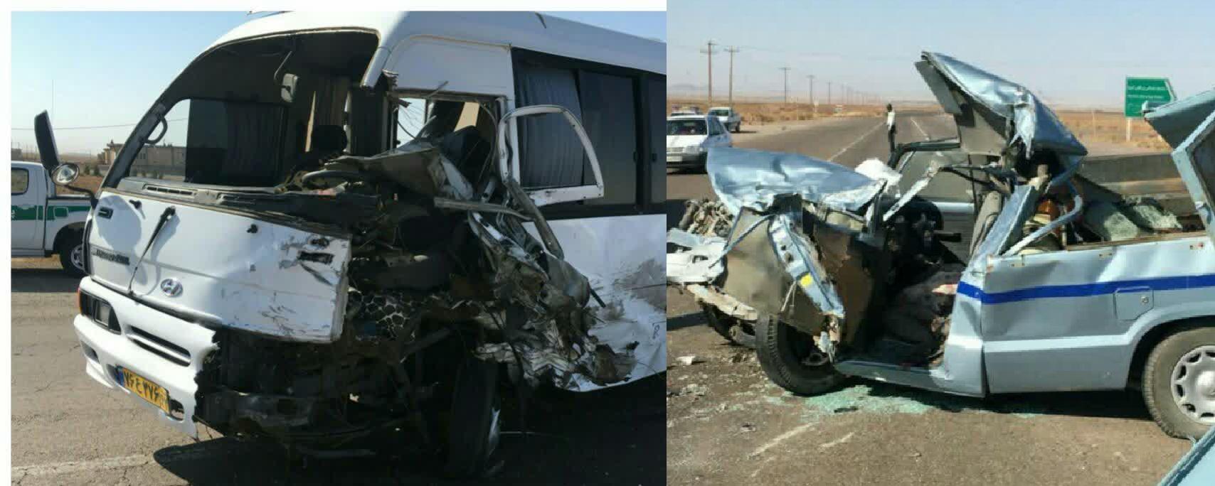 تصادف شدید در جاده خواف-تایباد یک کشته بر جای گذاشت.