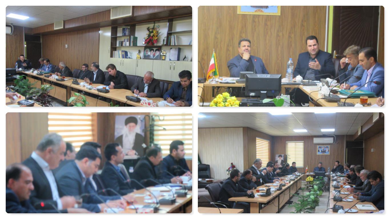 اولین شورای آموزش و پرورش شهرستان به ریاست آقای سنجرانی فرماندار شهرستان خواف برگزار گردید