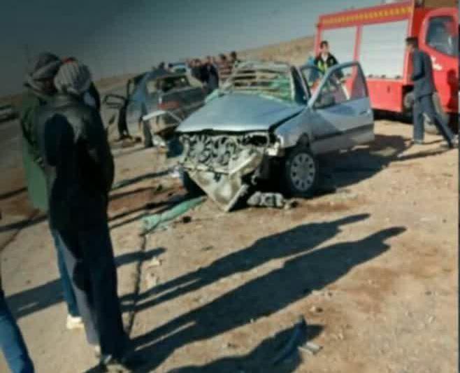 سانحه رانندگی در محور خواف-رشتخوار ۶ کشته و ۴ مصدوم برجای گذاشت.