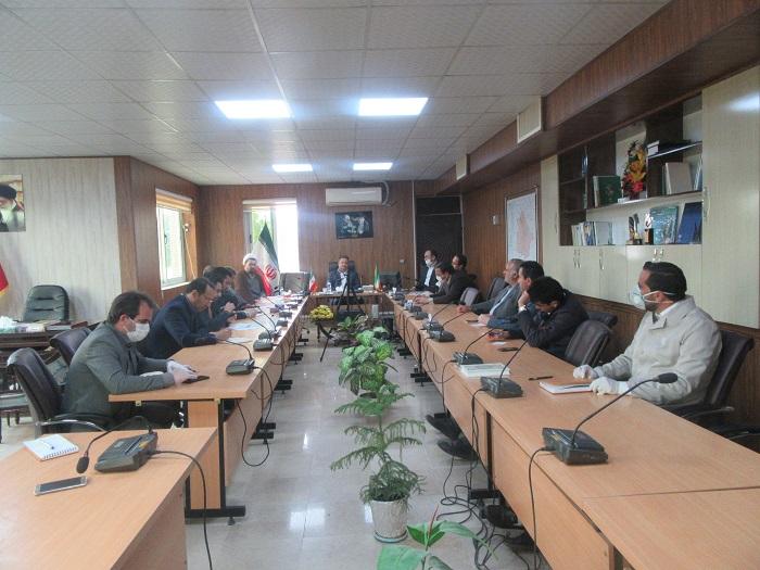 جلسه شورای حفاظت از اراضی ملی، منابع طبیعی و انفال شهرستان خواف