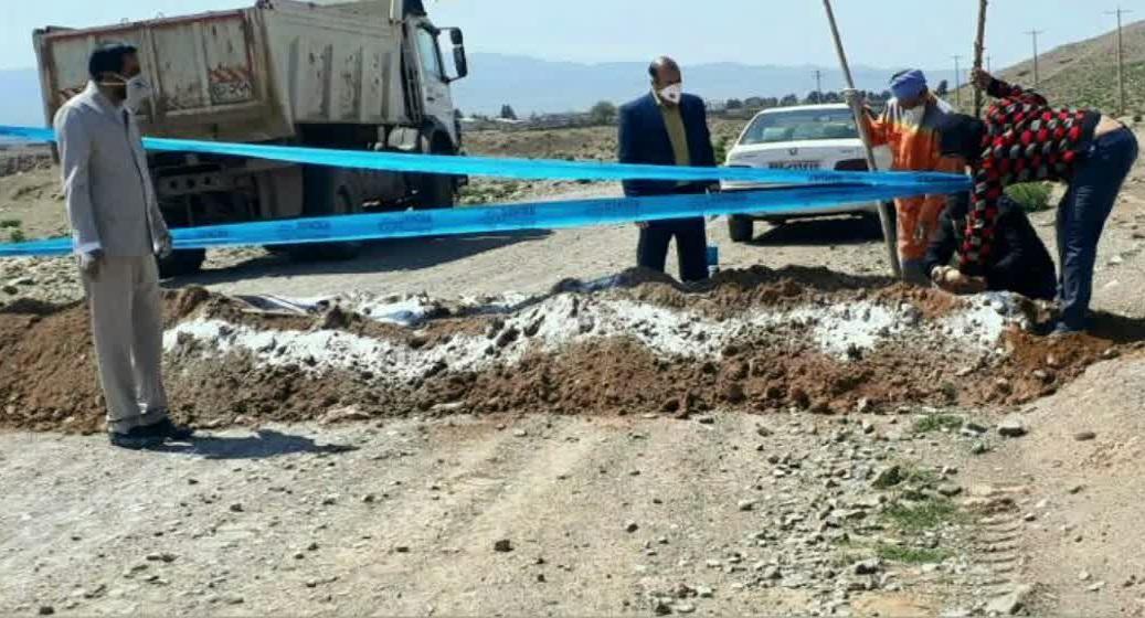 محور دسترسی به منطقه گردشگری سد سلامی مسدود شد.