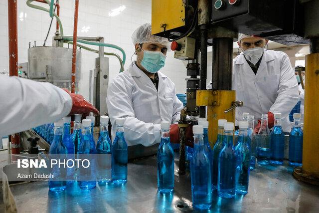 نخستین واحد تولید مواد ضد عفونی در خواف دایر میشود