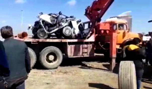2 کشته و 3 مجروح در سانحه رانندگی محور خواف به تربتحیدریه