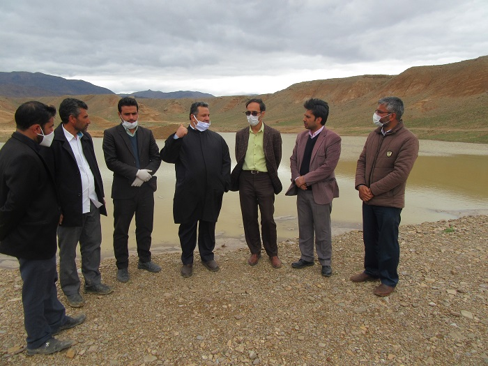ظرفیت بند خاکی طرح مهار سیلاب و رسوب گذاری روستای مزرعه شیخ خواف بررسی شد