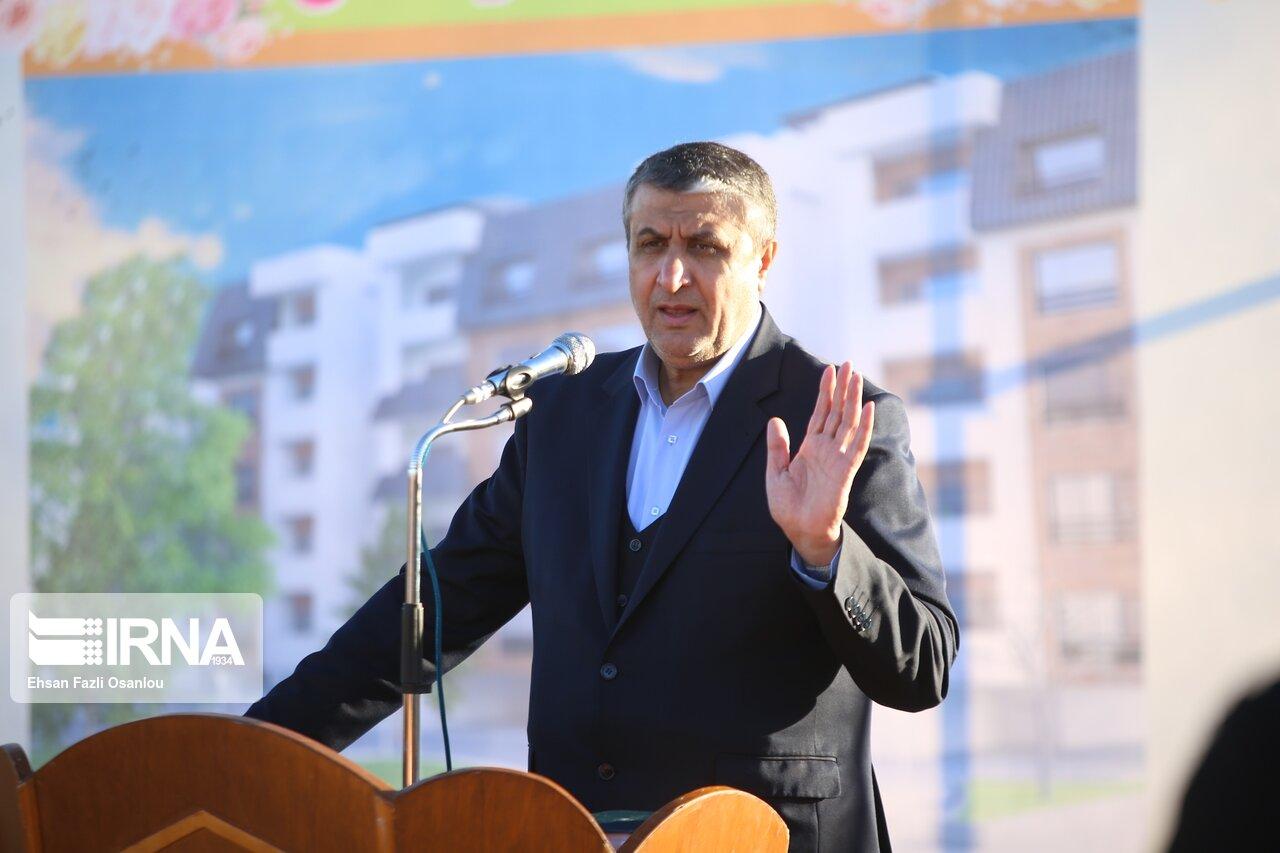 وزیر راه و شهرسازی: راه آهن خواف هرات درسال جاری تکمیل و قابل افتتاح است.