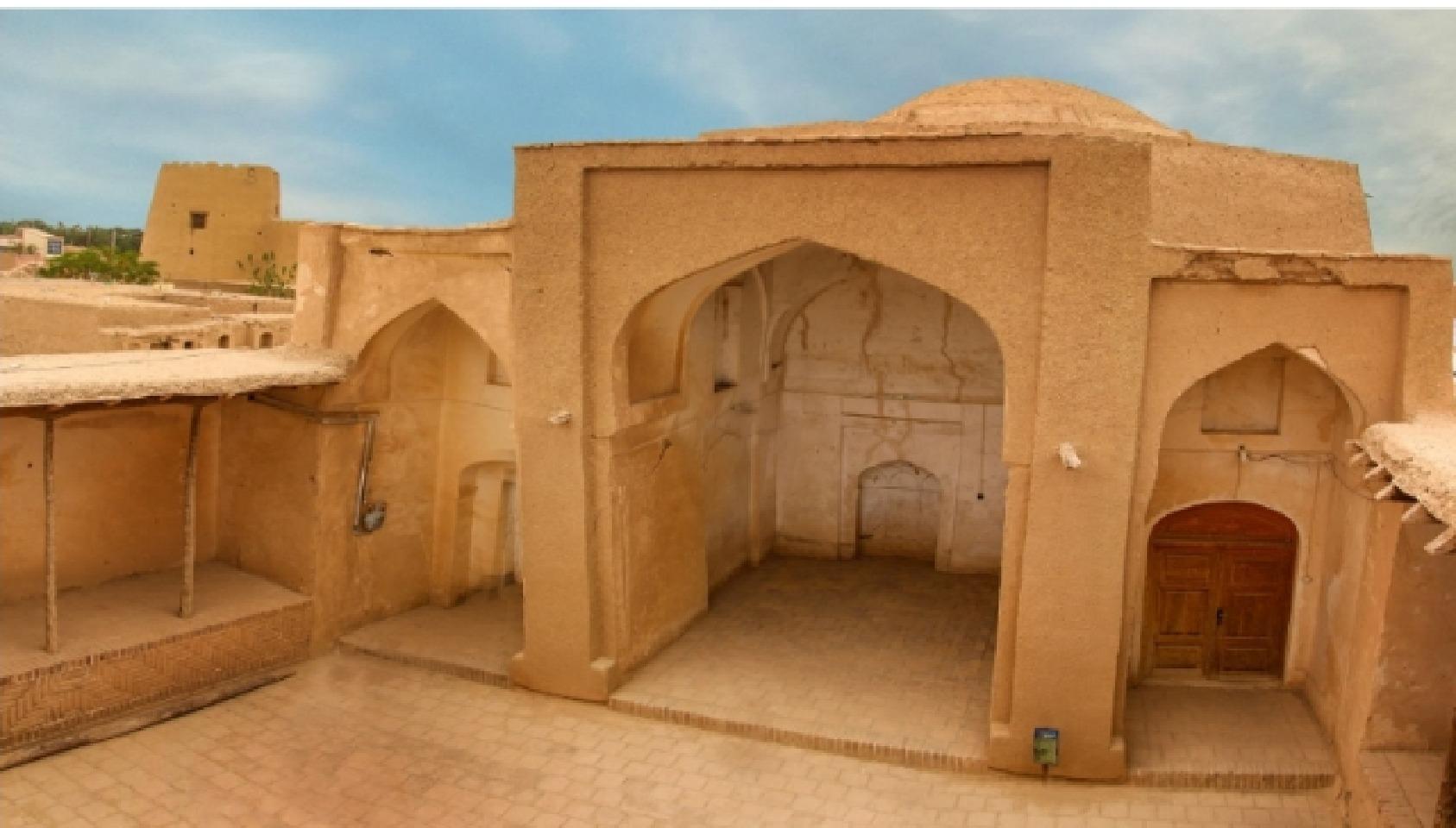 پایان مرمت مسجد گنبد شهر سنگان خواف