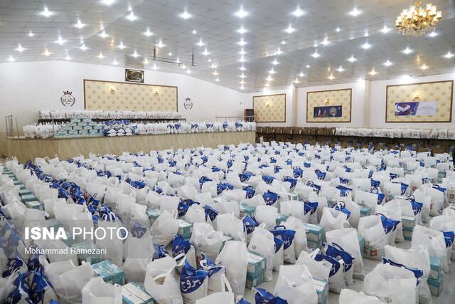 توزیع ۵۰۰۰ بسته معیشتی در خواف