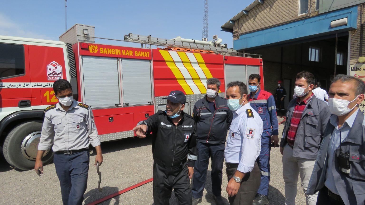 برگزاری دوره های آموزشی تخصصی اطفای حریق و تکنیک های آبرساني توسط شرکت سیمیدکو