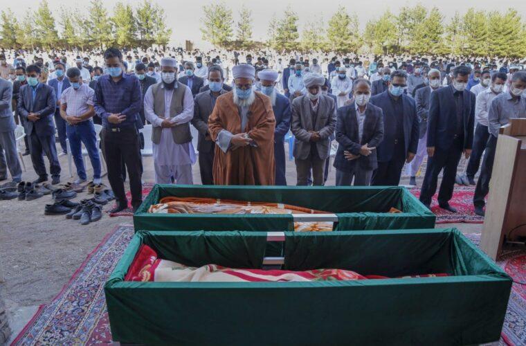خاکسپاری پیکر نماینده سابق خواف و رشتخوار در مجلس شورای اسلامی