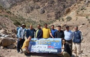صعود تیم کوهنوردی بنیاد خواف به ارتفاعات قله بزه