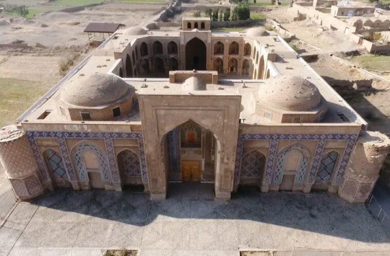 آزادسازی حریم اثر تاریخی مدرسه غیاثیه خرگرد خواف